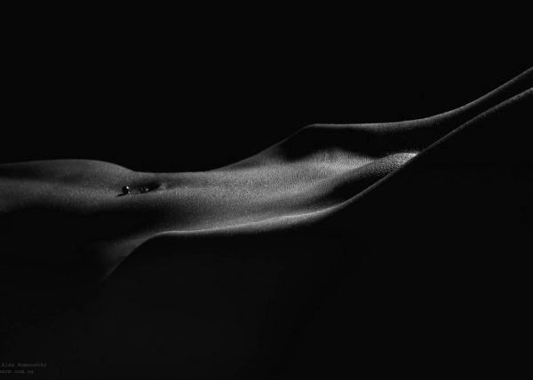 Фотограф ню Киев, ню свет и тень, artistic nude