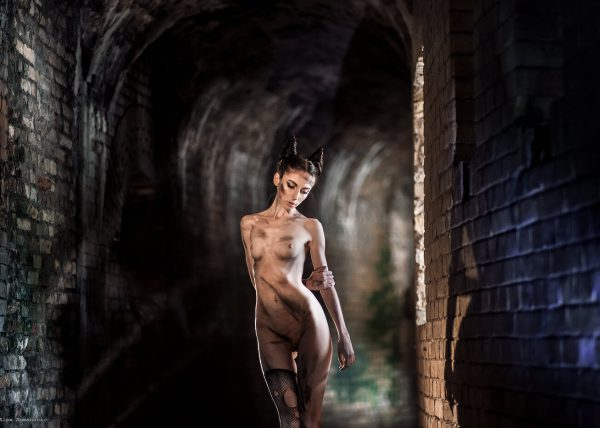 Фотограф ню Киев, девушка, чертенок